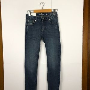 NWT 7 For All Mankind Super Skinny Jeans Sz 14